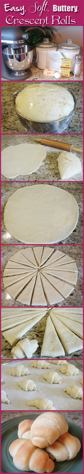 No more processed Pillsbury! Crescent Recipe