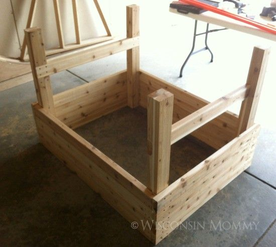 build your own elevated garden 9