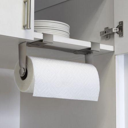 Купить держатель бумажных полотенец Mountie никель в EnjoyMe