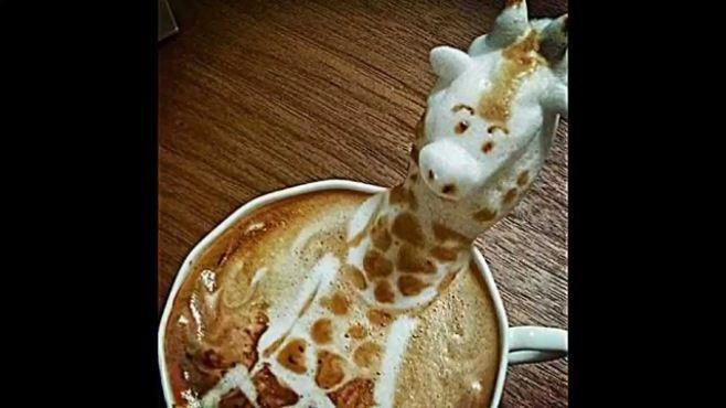 3D Latte Sanatı Şaşırtıcı Koleksiyonu - Fincanda inanılmaz 3D resim çizimi