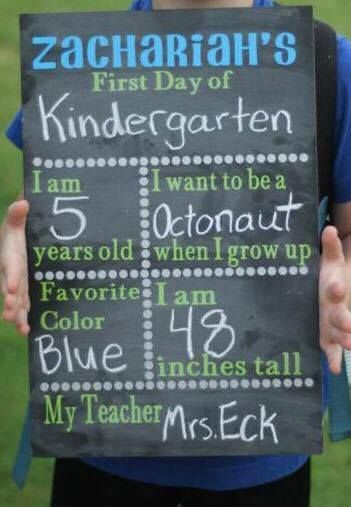 First Day of School Chalkboard (DIY and Giveaway!) http://hearthookhome.com/first-day-back-to-school-chalkboard-diy-and-giveaway/