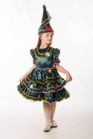 Детские костюмы елка сделай сам