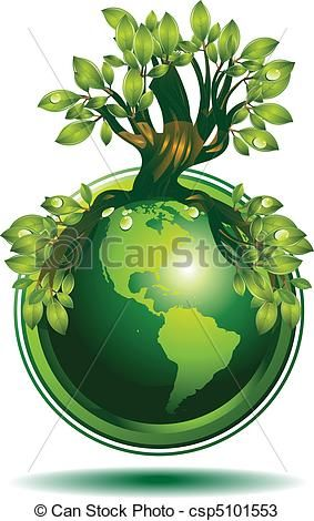 groene, Aarde - csp5101553