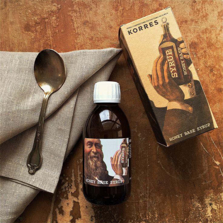 Honey Base Syrup #korres #herbal #pharmacy