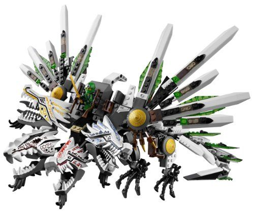 The 4-headed dragon from LEGO Ninjago Epic Dragon Battle