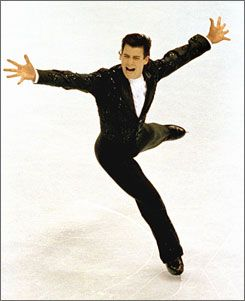 Christopher Bowman shows his gold medal form at the 1992 U.S. Figure Skating Championships in Orlando.