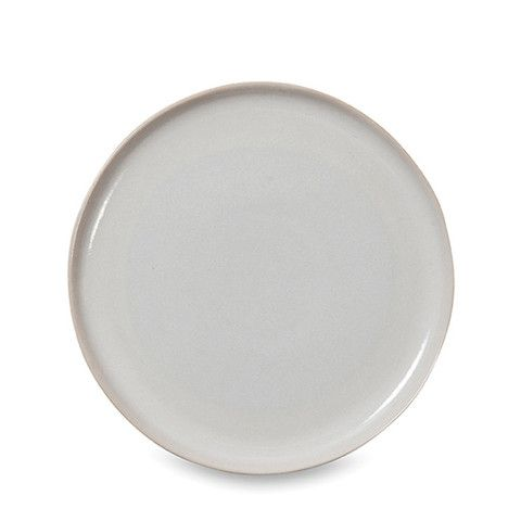 Finch White And Natural Dinner Plate Set Of 4 By Citta