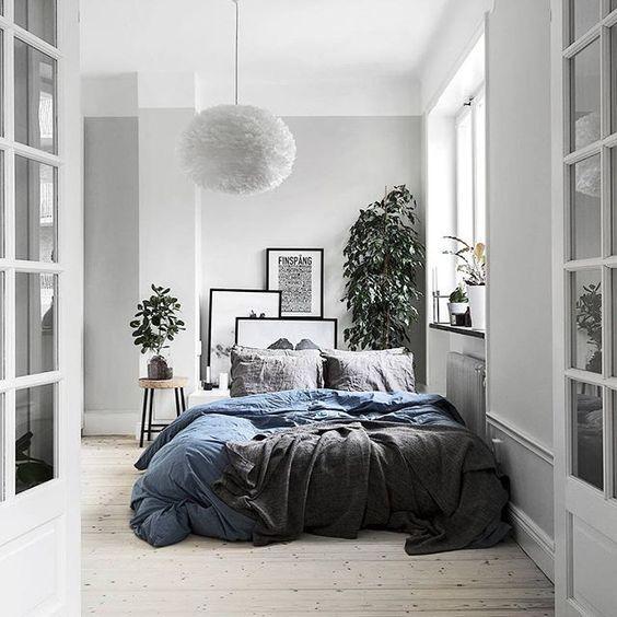 die besten 25 graue schlafzimmer w nde ideen auf. Black Bedroom Furniture Sets. Home Design Ideas