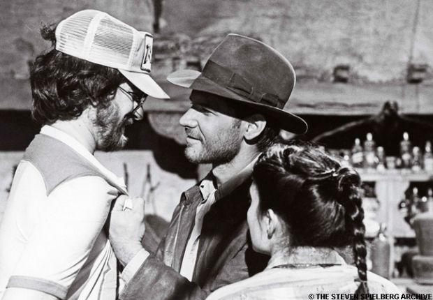 Indiana Jones- On set