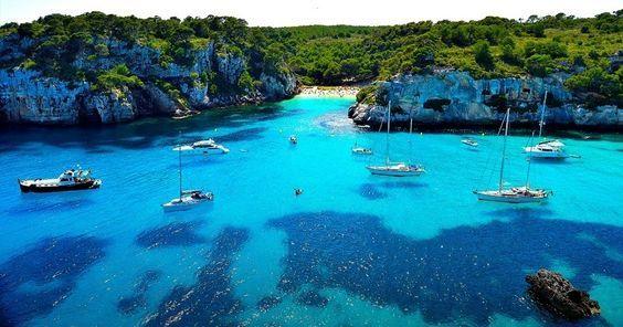 Roteiro de dois dias em Menorca #viagem #barcelona #espanha