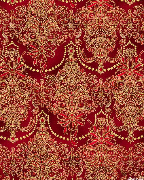'Holiday Flourish 7' collection by Peggy Toole for Robert Kaufman Fabrics.
