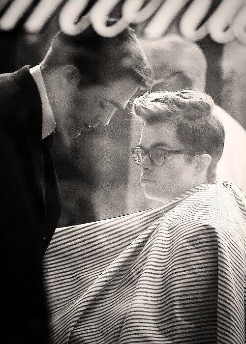 Dane DeHaan as James Dean Opposite Robert Pattinson as Dennis Stock