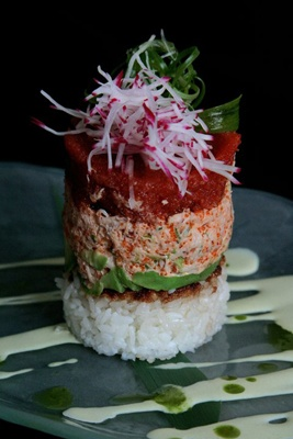 Dapur, Asian Tapas & Lounge... SAIA's plates need to look like this.