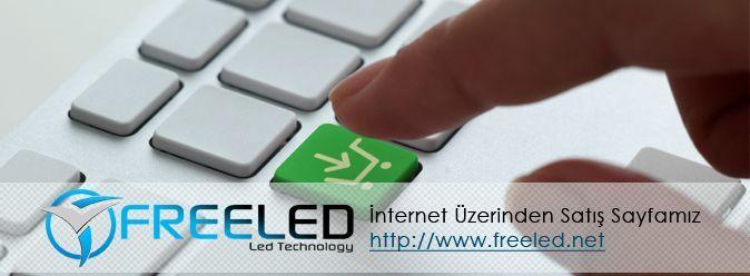 freeled elektronik olarak www.freeled.net adresinden freeled markalı ürünleri online olarak satış yapmaktayız.