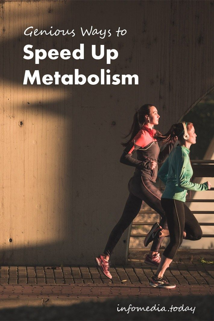 Genius Ways to Speed Up Metabolism