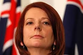 Julia Gillard now complains about our new democratic system to elect our Leader. We know she prefers back room deals, backstabbing and faceless men. Sorry Julia your kind has no room in our party now. She has the hide to accuse Kevin Rudd of destabilising the Labor Party when she was the one who destabilised it when she plotted against Rudd.