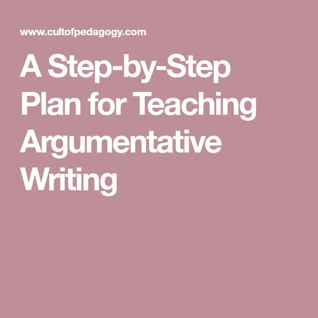 steps in planning an argumentative essay Step-by-step guide to writing an essay  some of the most common include narrative, expository, argumentative, persuasive, comparative and literary are you presenting an overview or.