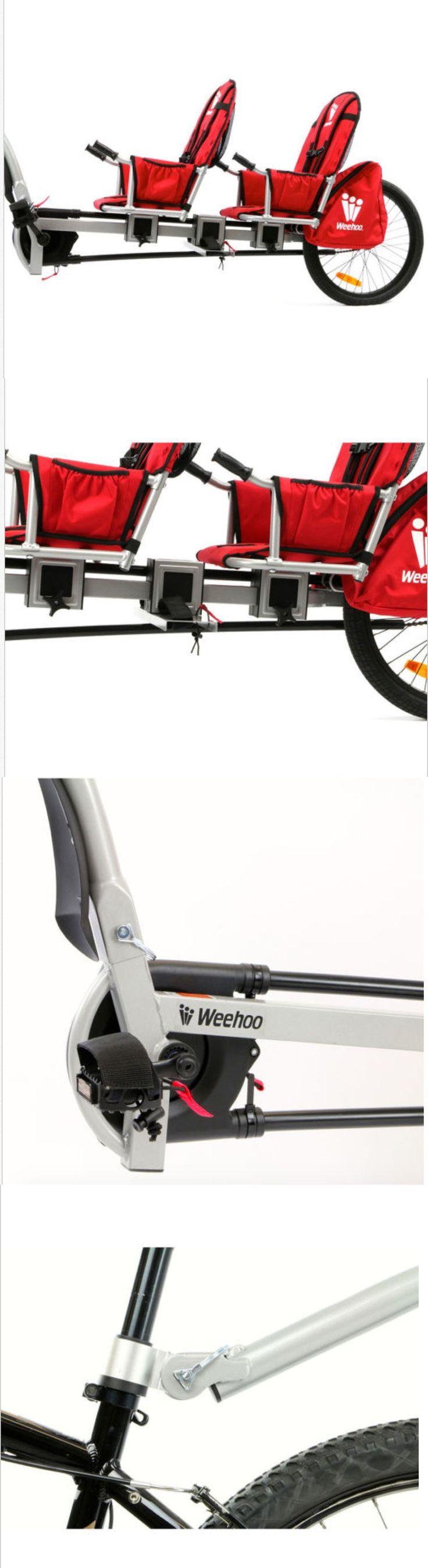 Trailers 85040: New Weehoo Igo Two Tag Along Kids Bicycle Bike Trailer | 2 Seats | K1020 -> BUY IT NOW ONLY: $499 on eBay!