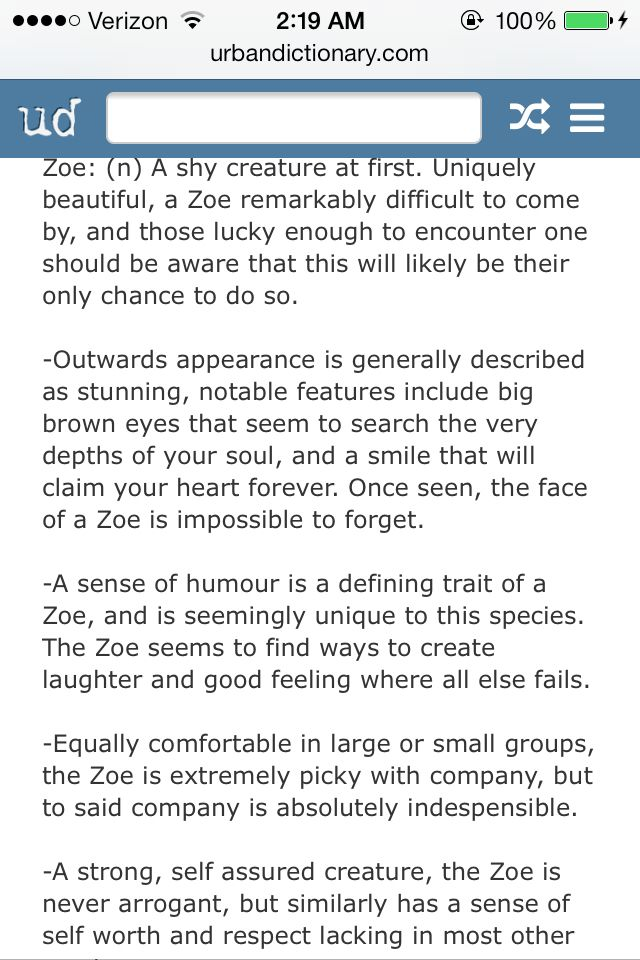 Meaning Behind The Name Zoe