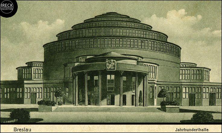 Breslau - Jahrhunderthalle 1928