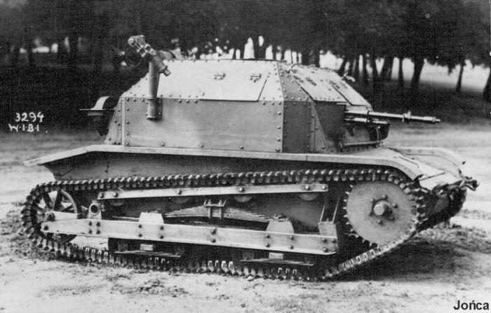 """Polish light tank """"Tankietka"""" TK-3"""