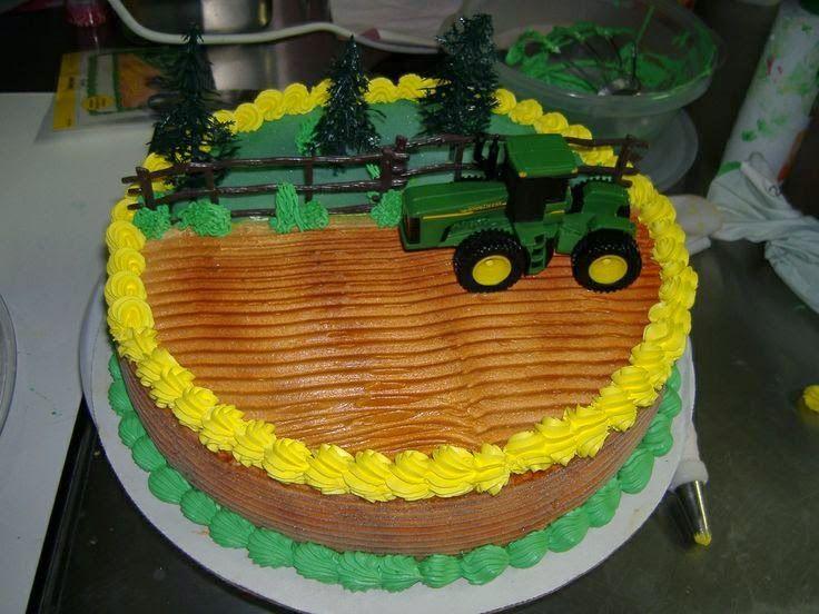 Pin Von Helene Siggi Raum Auf Kuchen Traktor Geburtstagskuchen Traktor Geburtstag Bauernhoftorte