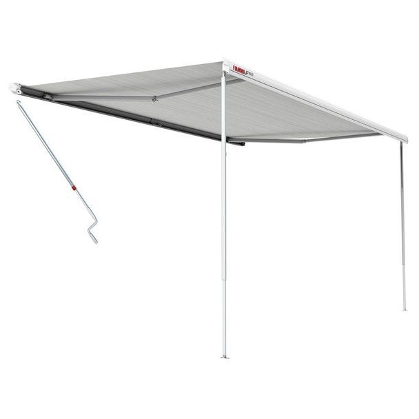 Fiamma 05810e01r F65s Awning 4 0m 13 2 Polar White Case Royal Grey Fabric Grey Fabric Awning Roof Installation