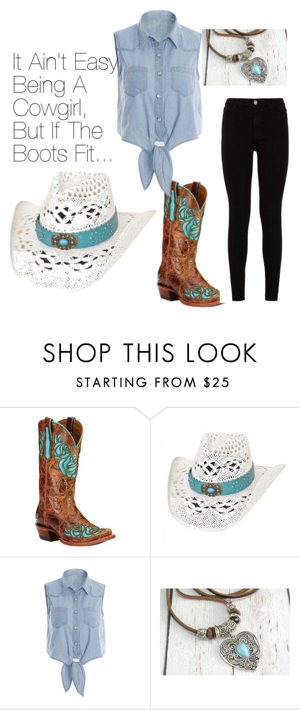 Cowgirl by steelersfootballfashionanimalgirl on Polyvore featuring interior, interiors, interior design, home, home decor, interior decorating, 7 For All Mankind and Ariat