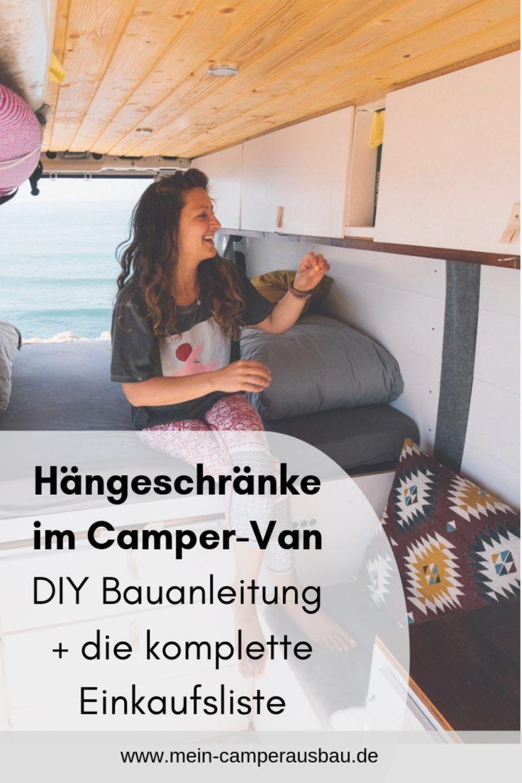 Hängeschränke Camper DIY Bauanleitung