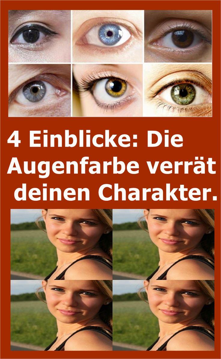 4 Einblicke: Die Augenfarbe verrät deinen Charakter. | njuskam!
