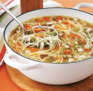 Chicken Soup With Thread Noodles Recipe on Yummly. @yummly #recipe