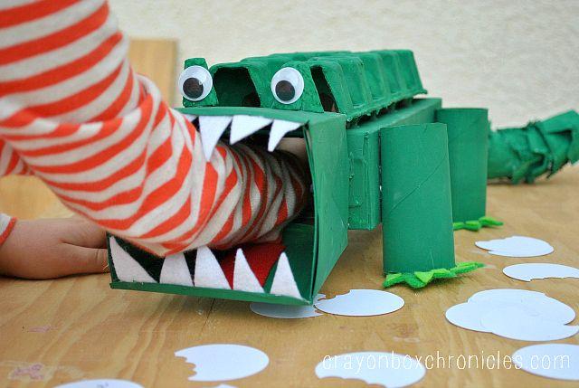 Alligator Affirmation Box - Showing Kids Love