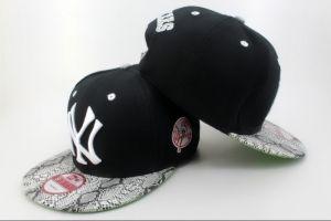 Casquette NY New York Yankees MLB Snakeskin Snapback Noir : Casquette Pas Cher