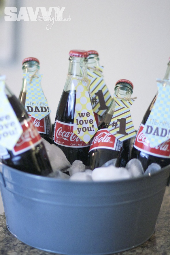 Father's Day DIY Decor with awesome free printables from Amanda's Parties to Go!  http://savvystyle.net/2013/06/17/fathers-day-party-diy-decor/