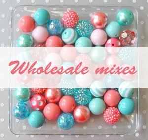 Boutique Craft Supplies: Bubblegum beads…
