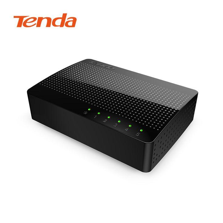 Tenda SG105 Réseau 5 Ports Gigabit 10/100/1000 Mbps Ethernet Rapide Switche Lan Hub Full/Half duplex Échange pour la maison