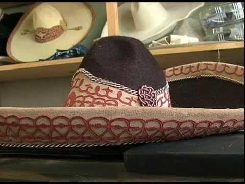 Los sombreros de Charro y que se representan por la comunidad de Mexico.