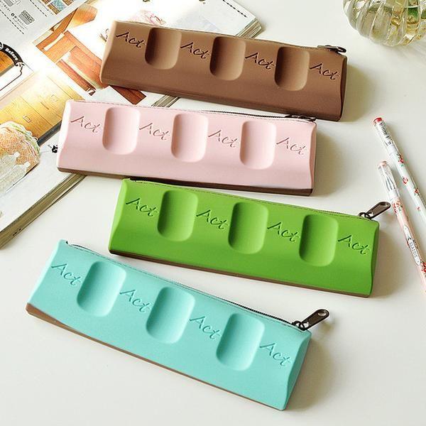 Kawaii Chocolate Shape Pencil Case