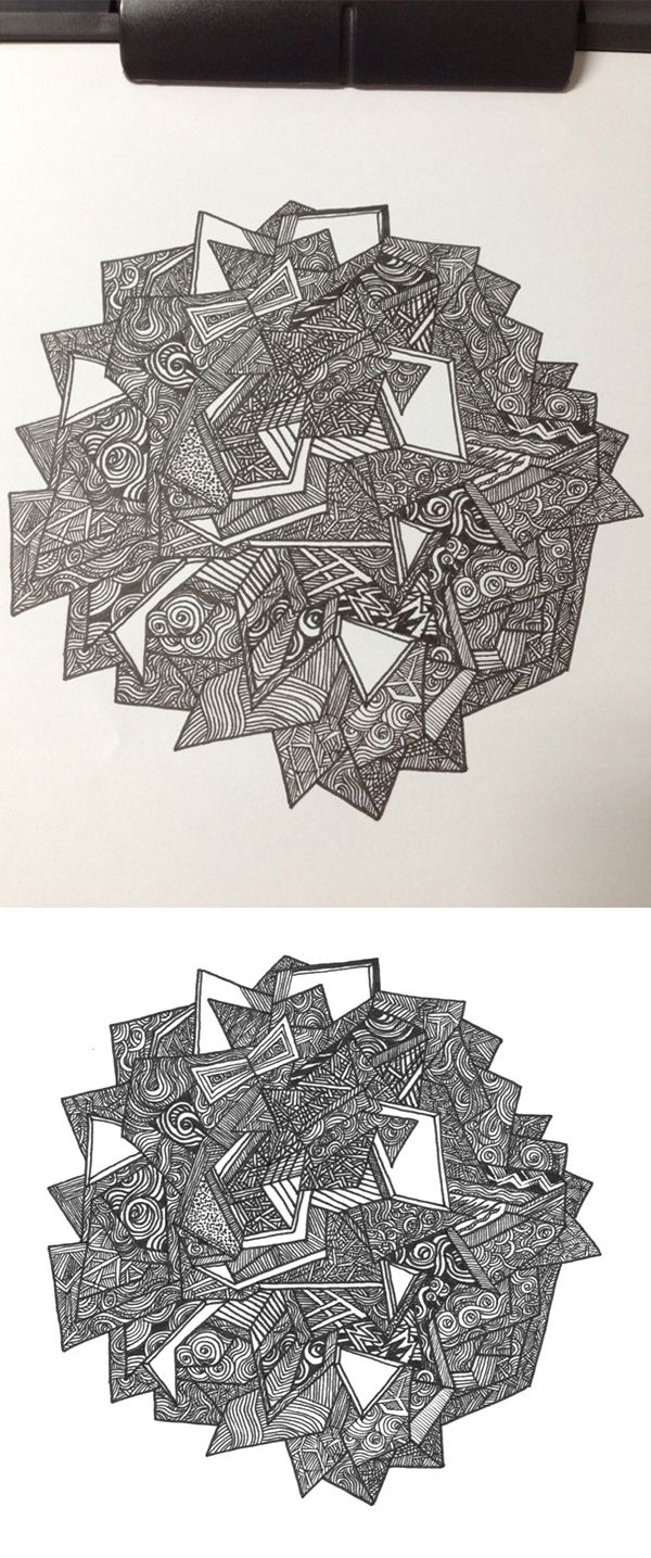 The sum of all Chaos on Behance