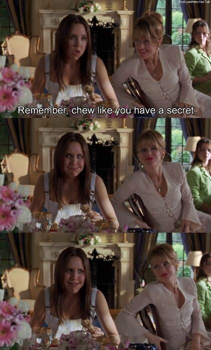 chew like you have a secret :)