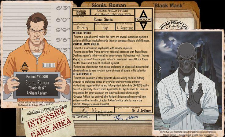 Arkham Files - Black Mask by Roysovitch on DeviantArt