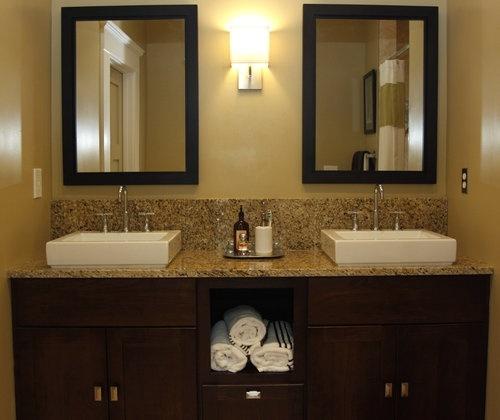 bath #popular: Bathroom Design, Bath Sweet, Bathroom Ideas, Master Bath, Bath Sinks, Guest Bath, Bath Ideas, Double Sinks, Design Pinterest