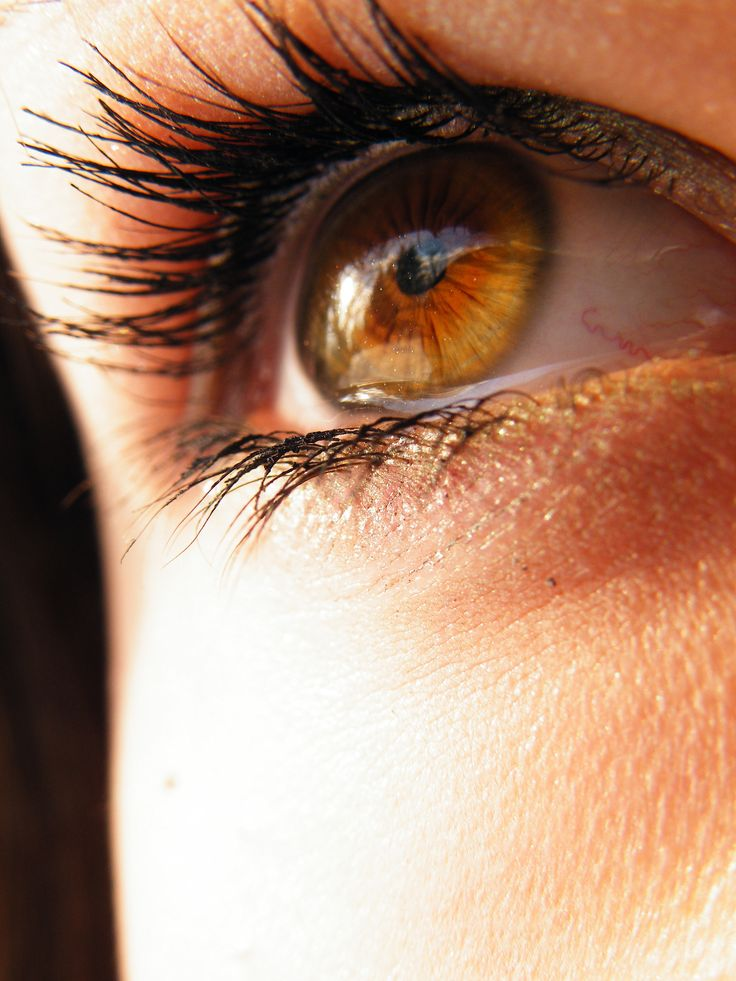 Beautiful amber eyes