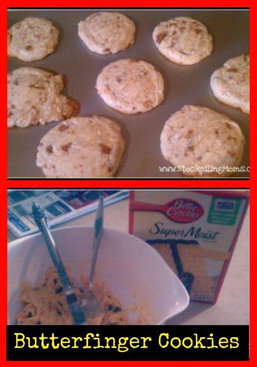 ... | Butterfinger cookies, Sugar cookie bars and Frozen lemonade pie