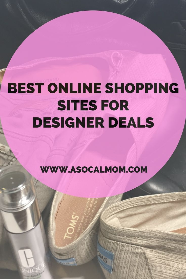 Best online shopping sites for deals on designer clothes and shoes.