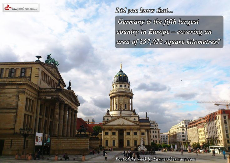 New Fact of the week from our #lawyers in #Germany #factoftheweek www.lawyersgermany.com
