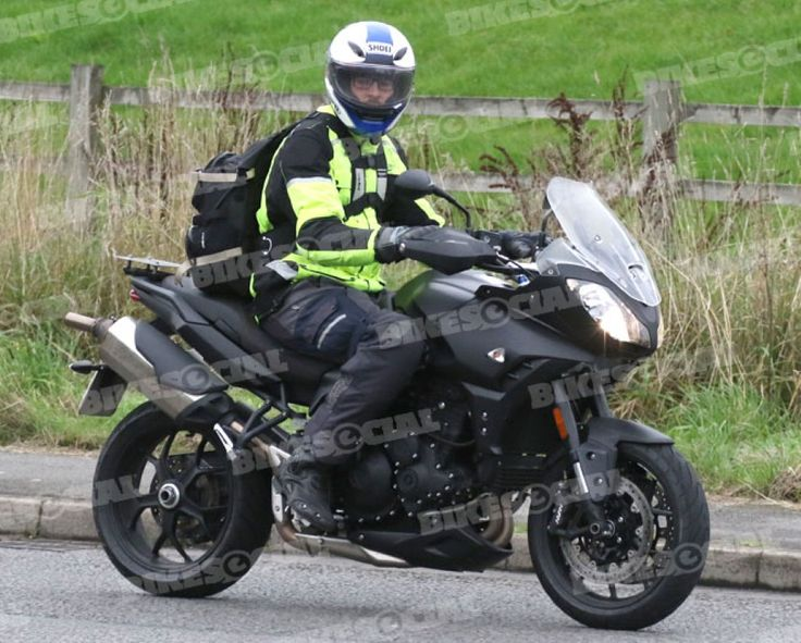 New Triumph Tiger 1050 Spotted Testing