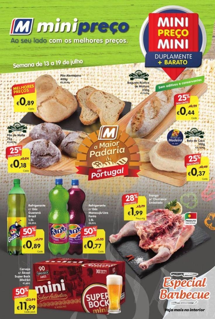 Folheto #Minipreço versão Nacional promoções da semana em vigor de 13 a 19 Julho.
