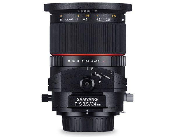 Samyang 24mm f/3.5 ED AS UMC Tilt-Shift Lente para Canon EOS M | MobiCity España