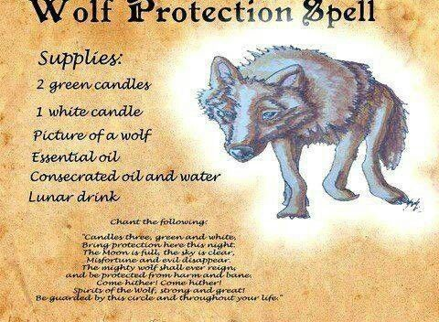 Wolf Protection Protection Spells Pinterest Wolves